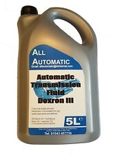 ATF DEXRON 3 Automatic Transmission Fluid DXIII - 5 Litres - Made in UK