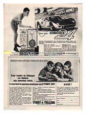 1966 DOCUMENT (ref Lip 369R) PUB  :  JOUET AUTO CIRCUIT 24  ford mark 1  1/2page