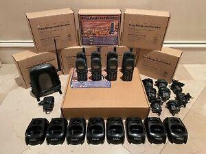 EnGenius Durafon 1X Complete Set of 8 Phones w/ Base