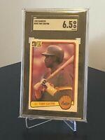 1983 Donruss #598 Tony Gwynn HoF Rookie (RC) SGC 6.5 EX-NM+ San Diego Padres