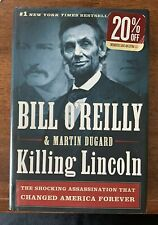"""Bill O'Reilly: 2011 """"Killing Lincoln: The Shocking Assassination..""""   """"NM/MT"""""""