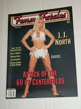Vintage FEMME FATALES Vol 3 #3 Winter 1995 JJ North 60 Ft Centerfold Issue