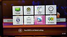 "LG 55"" LED TV FULL HD, USB, INTERNET SMART TV, HDMI x 3. Pristine condition. 55"""