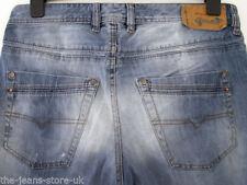 Diesel Faded Skinny, Slim Rise 34L Jeans for Men