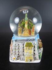 Innsbruck Schneekugel  Glanz Sockel Snowglobe 12 cm ,Souvenir Austria Österreich