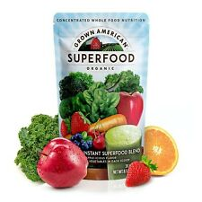 Grown American Superfood: 31 Organic Whole Fruits and Vegetables in Every Scoop!