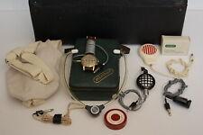 Vintage Minifon Protona Mi-51 Spy Recorder and Microphone Wristwatch working