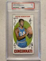 OSCAR ROBERTSON 1969 Topps Basketball #50 PSA 5 EX Cincinnati Royals  BUCKS