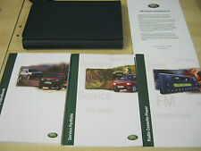 LAND ROVER FREELANDER 1997-2003 OWNERS MANUAL HANDBOOK AND NEW SERVICE BOOK