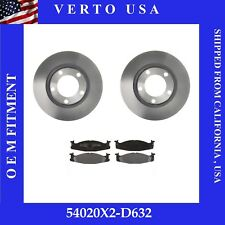 Front Brake Rotors & Pads For Ford F150 4 Wheel Drive 1994-1995-1996