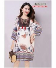 KNITTED PLUS SIZE DRESS 801