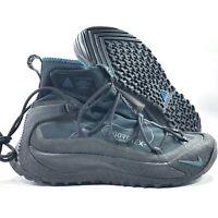 Nike ACG Air Terra Antartik Black Turquoise Grey BV6348-001 Men's 7.5