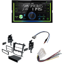 JVC 2-Din Car Stereo Bluetooth/CD Player w dash kit for Nissan Altima 2007-2011