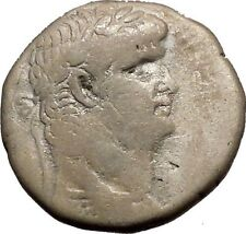 NERO 72AD Antioch Tetradrachm Large Ancient Silver Roman Coin Eagle i52641