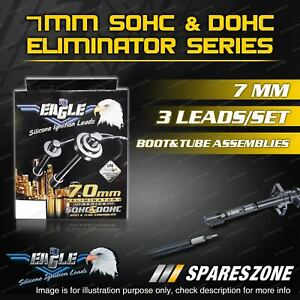Eagle 7mm Eliminator Ignition Leads Set for Ssangyong Korando Musso 6Cyl 3 Leads