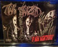 Twiztid - A New Nightmare CD Pre-Order Signed Cover insane clown posse madchild