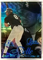 1997 FLEER FLAIR SHOWCASE LEGACY COLLECTION ROW 2 ALBERT BELLE 42/100 MINT