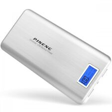(100% Original) PINENG PN-999 20000mAh Power Bank Charger - Silver