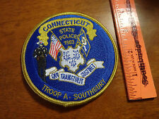 CONNECTICUT STATE POLICE  TROOP A SOUTHBURY STATE TROOPER   OBSOLETE