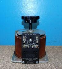 General Radio Type W5 Variac Variable Ac Transformer 0 120v 6 Amps Free Shipping