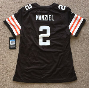 Johnny Manziel Cleveland Browns Nike Women's Game Jersey NWT. S, M, L, XL or XXL