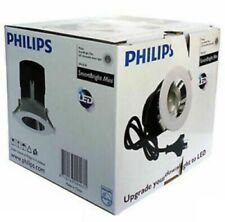 Philips SmartBright LED Downlight kit 11W Complete DIMMABLE with PLUG 4000K