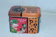 Paul Frank tin can for watch what time is it ? 2000 FREE SHIPPING