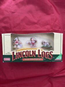 1996 Lincoln Logs Wild Frontier Set Figurines Action Figures