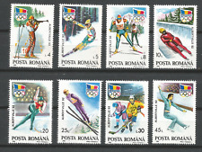 Roumanie 1992 Jeux Olympiques Albertvil Y&T N°3985A/3985H 8 timbres neufs /T4695