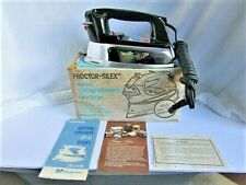 Vintage Proctor-Silex Type I906B Deluxe Spray/Steam Dry Iron Free Shipping