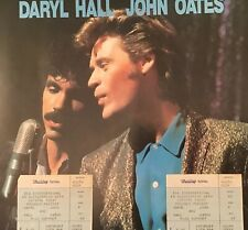 DARYL HALL & JOHN OATES 1984 Tour Programme with Wembley Arena Tickets