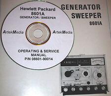 HP 8601A Generator/ Sweeper Operating & Service Manual