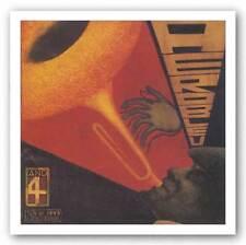 JAZZ ART PRINT Aerobleu 4 Don Kilpatrick