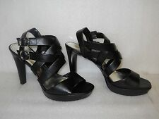 Style & Co New Womens Doris Black Strappy Heels 9.5 M Shoes