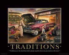 Automotive Motivational Poster Stock Car Racing Parts NASCAR Toys Track MVP87