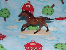 Hagen Renaker Horse Seabiscuit Racehorse on Base Figurine Ceramic 4005 FREE SHIP