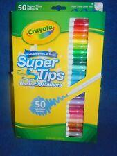 Crayola Supertips 50 Washable Markers