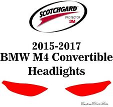 3M Scotchgard Paint Protection Film Pre-Cut 2015 2016 2017 BMW M4 Convertible