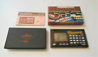 THE LAS VEGAS Vintage TOMY Electronic LCD Handheld Game NOS Roulette,Slots Works