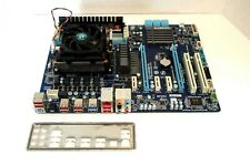 GIGABYTE GA-970A-D3 MotherBoard with AMD Phenom II X6 1035T CPU (6 core, 2.6Ghz)
