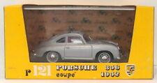 Brumm Models 1/43 Scale Diecast R121 - 1952 Porsche 356 Coupe - Silver
