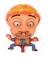 Folienballon Boonie Bears Man Heliumballon Luftballon Kindergeburtstag Rosa