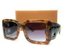 BURBERRY BE4312 38688G Brown Grey Gradient Women's Sunglasses 55mm