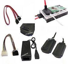 """SATA+IDE Adapter Kabel USB 2.0 zu Festplatte 2,5"""" 3,5"""" 5,25"""" für PC/Notebook MAC"""