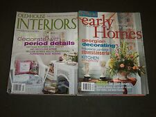 2000'S OLD HOUSE INTERIORS MAGAZINE LOT OF 16 - NICE COVERS & PHOTOS - R 93