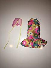 "B1001 Baby Knitting Pattern Pram Cover Dress DK 16/"" Repro"