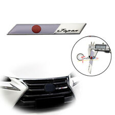Emblem Plate Badge JDM Japanese Sun Flag For Car Front Grille Side Fender Trunk