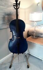 More details for cello, blue, full size, brand: purple turtle music