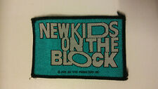 New Kids on The Block NKOTB 1989 Vintage patch logo music boy band group pop