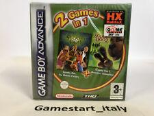 SCOOBY DOO 1 + 2 - NINTENDO GAME BOY ADVANCE GBA - VIDEOGIOCO NUOVO SIGILLATO